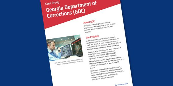Case Study: Georgia Department of Corrections