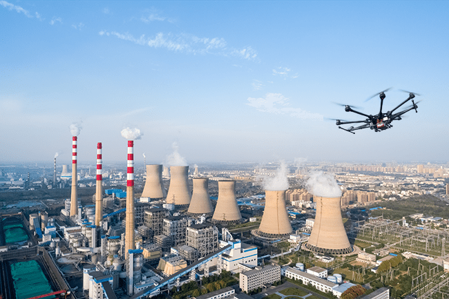 Critical infrastructure drone detection