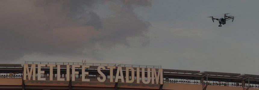Drone Detection at MetLife Stadium