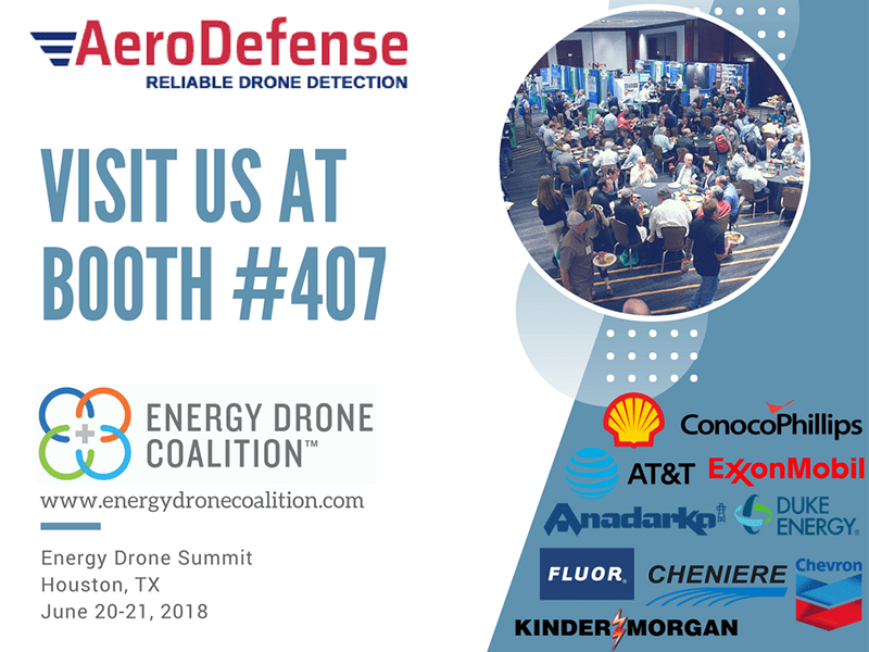 Energy Drone Coalition Summit 2018 - AeroDefense